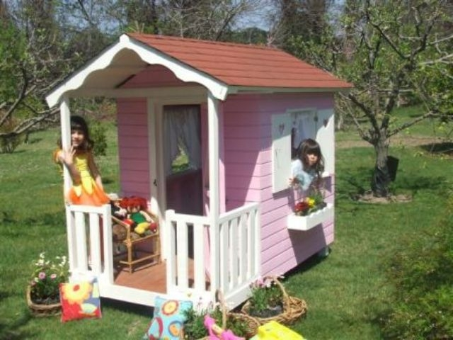 Fotos de casa de mu ecas para jardin imagui for Casas infantiles de madera para jardin