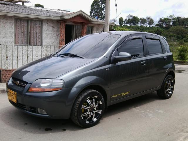 Vendo Chevrolet Aveo Five 5 En Popayn